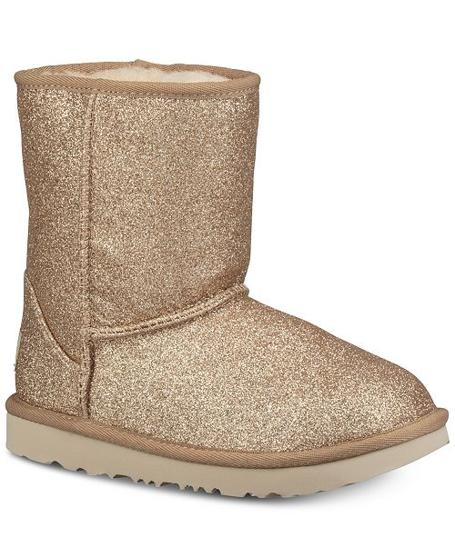 123a6f1d453 UGG® Toddler Classic Short II Glitter Boots & Reviews - Boots - Shoes ...