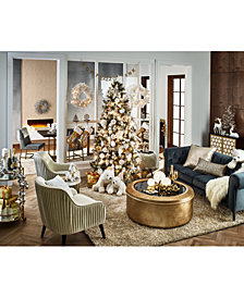 holiday lane shine bright decor created for macys - Christmas Home Decor