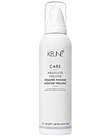 Keune CARE Absolute Volume Mousse, 6.7-oz., from PUREBEAUTY Salon & Spa