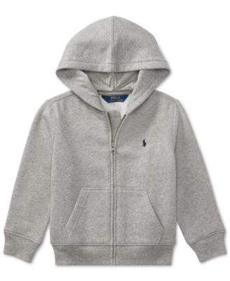 Ralph Lauren Toddler Boys Full Zip Hoodie