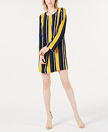 Bar III Striped Sheath Dress, Created for Macy's