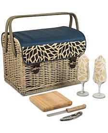 Picnic Time Kabrio Wine & Cheese Picnic Basket