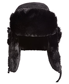 Woolrich Men's Faux-Fur Trooper Hat, Created for Macy's