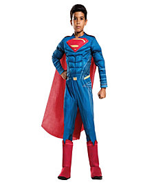 Justice League Movie - Superman Deluxe Boys Costume