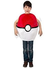 Pokemon Pokeball Kids Costume