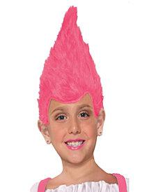Pink Kids Fuzzy Wig