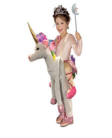 Ride On Unicorn Girls Costume