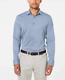 Ryan Seacrest Distinction™ Men's Modern-Fit Stretch Shirt, Created for Macy's