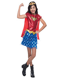 Wonder Woman Sequin Toddler Girls Costume