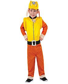 Paw Patrol: Rubble Classic Little Boys Costume