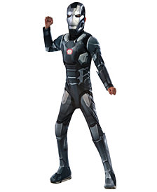 Marvels Captain America: Civil War Deluxe War Machine Muscle Chest Boys Costume