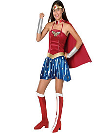 Justice League DC Comics Wonder Woman Girls Costume