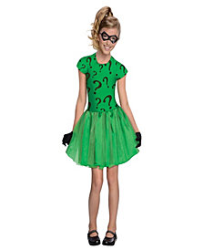 Riddler Tutu Dress Girls Costume