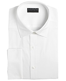 Men's Solid French Cuff Slim-Fit Dress Shirt, Created For Macy's