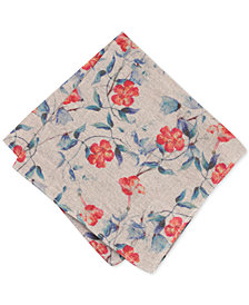 Bar III Men's Acdath Floral Pocket Square, Created for Macy's