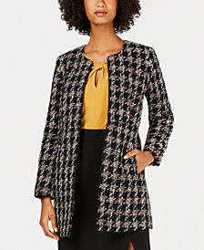 Nine West Tweed Topper Jacket