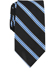 Nautica Men's Gaillard Stripe Slim Silk Tie