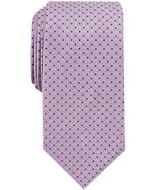 Nautica Men's Elmwood Neat Slim Silk Tie