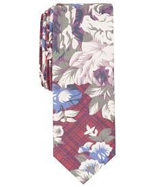 Penguin Men's Reynolds Floral Skinny Tie