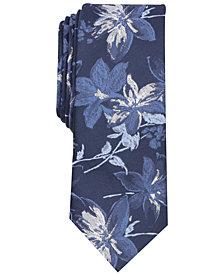 Tallia Men's Hinton Floral Slim Tie