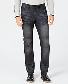 INC Men's Kong Slim-Straight Jenas, Created for Macy's