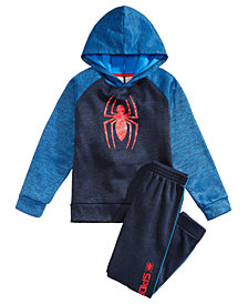 Marvel Little Boys 2Pc. Spiderman Hoodie & Pants Set
