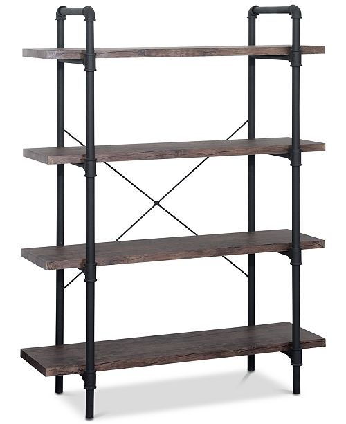 Noble House Madison 4-Tier Book Shelf