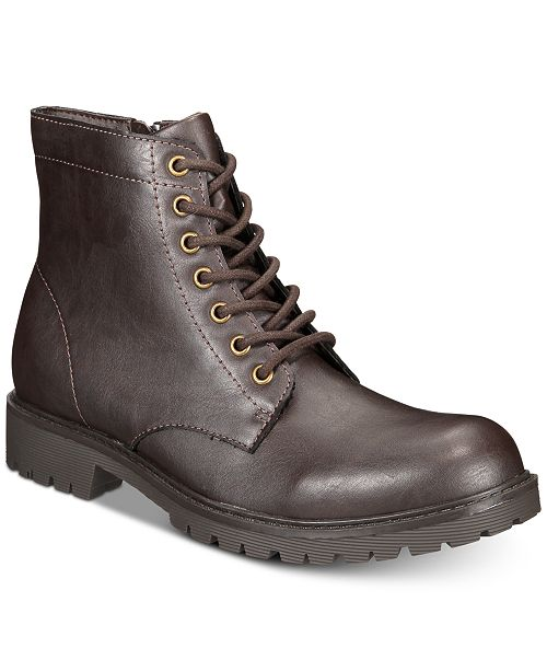 efdcd9892 Club Room Men's Landon Boots, Created for Macy's & Reviews - All ...