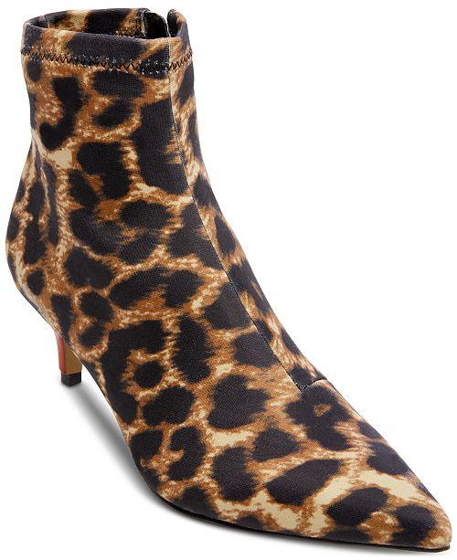 Betsey Johnson Verona Kitten-Heel Booties
