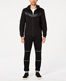 ID Ideology Men's Chevron Hoodie & Joggers, Created for Macy's