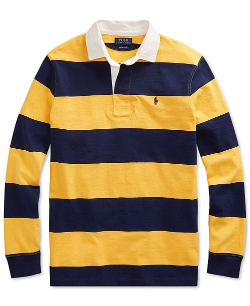 4ae3104c Polo Ralph Lauren Men's Classic Fit Cotton Iconic Rugby Shirt ...