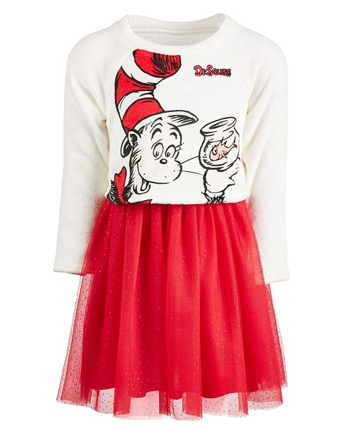 a164bf94 Hybrid Toddler Girls Cat In The Hat Layered-Look Dress & Reviews ...