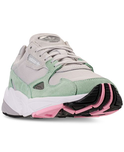 adidas Women's Originals Falcon Suede Casual Sneakers from