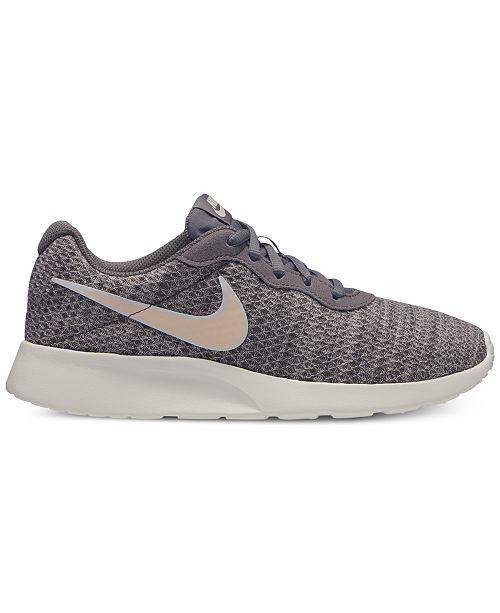 Nike Women s Tanjun Premium Casual Sneakers from Finish Line ... e557ae52d
