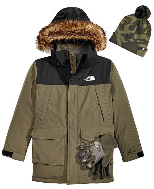 cb949feea The North Face Little & Big Boys Youth Ski Hat, McMurdo Hooded ...