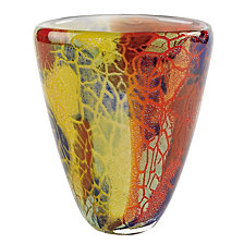 Badash Crystal Firestorm Vase