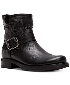 Women's Veronica Leather Booties