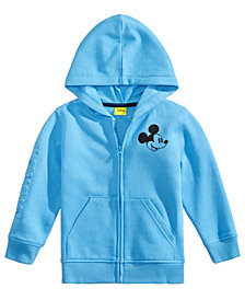 Disney Little Boys Mickey Mouse Graphic Zip-Up Hoodie