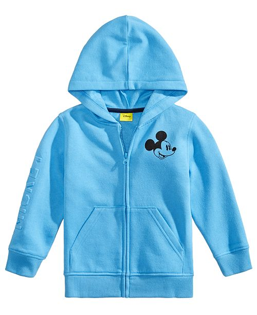 3970939bbd9c95 Disney Toddler Boys Mickey Mouse Graphic Zip-Up Hoodie   Reviews