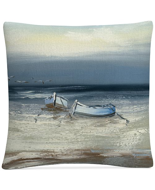 "Baldwin Rio Low Tide 16"" x 16"" Decorative Throw Pillow"