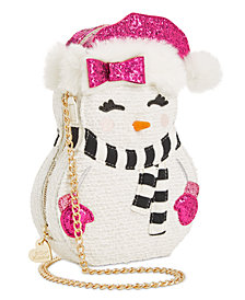 Betsey Johnson Snow Girl Crossbody