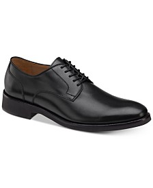 Johnston & Murphy Men's Carlson Plain-Toe Derby Oxfords
