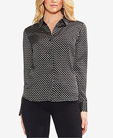 Vince Camuto Geometric Print Shirt