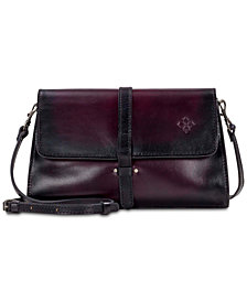 Patricia Nash Tijola Stained Leather Crossbody