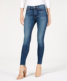 Hudson Jeans Barbara High Waisted Super Skinny Ankle Jean