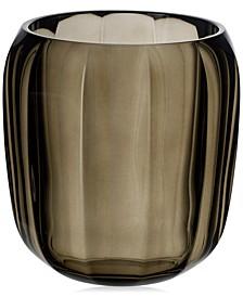 Cozy Natural Cotton Hurricane Lamp Small Vase