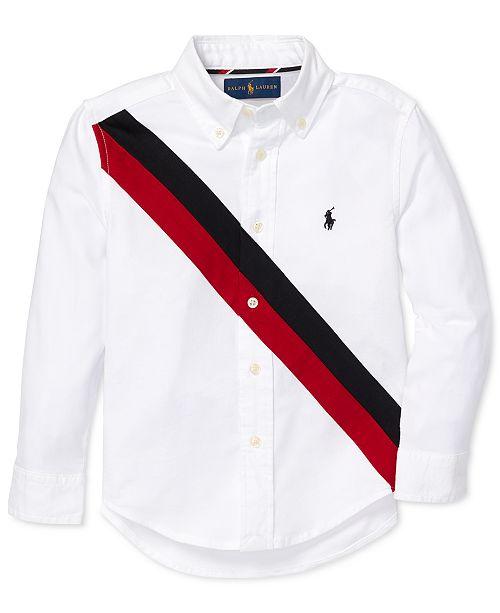 f0d507341 Polo Ralph Lauren Toddler Boys Performance Oxford Shirt & Reviews ...