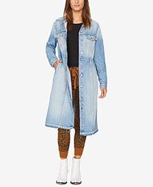 Sanctuary Ramsey Long Cotton Denim Jacket