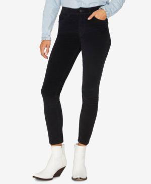 SANCTUARY Social Standard Corduroy Skinny Jeans in Black