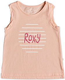 Roxy Little Girls Graphic-Print Cotton Tank Top